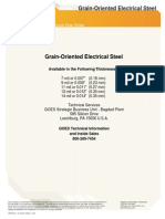 Goes-technical-data2 for Core Steel