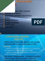 Prezentare- Elementele Contului