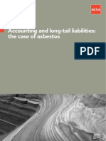 Accounting and Long-tail Liabilities the Case of Asbestos