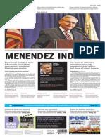 Asbury Park Press front page Thursday, April 2 2015