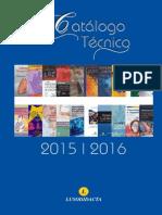 Catalogo Técnico 2015/2016