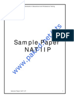 Sample Paper NAT IIP