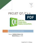 Projet Qt