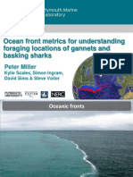 Peter Miller & Kylie Scales 2015 Fronts Foraging Gannets Basking Sharks
