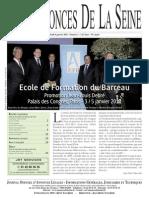 Edition Du Jeudi 6 Janvier 2011 - Numéro 1
