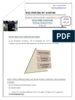 Auditor Services- Series- 36