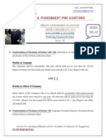 Penalty- Punishment Auditor- Series- 38
