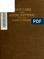 (1920) A Manual on Footcare and Shoe Fitting