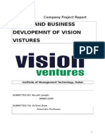 Company Project Report - Vision Ventures.