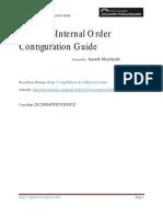 1254923sap Internal Order