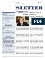 Will the world be different without offshore structures? - LAVECO Newsletter 2015/1.