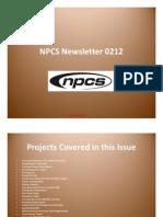 NPCS (Www.niir.Org) Newsletter -2012