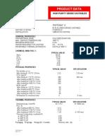 Whytheat K-data Sheet