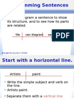 Diagramming Sentences (2)