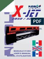 Neolt Xjet 3200 manual English/ Italian