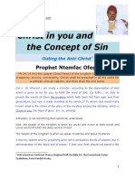 Christ in You and the Concept of Sin