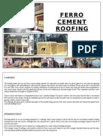 Ferro Cement Roof