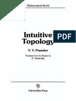 V. V. Prasolov - Intuitive Topology 1995