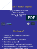 The Power of Search Engines