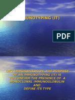 Capillarys Immunotyping