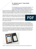"LG Optimus L9 P760. Android cuatro,7"" Gama Media (doscientos treinta y nueve €)"