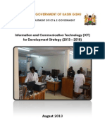 ICT Sector Plan 2013-2018