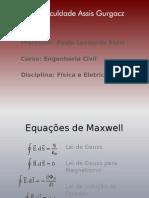 Eq. Maxwell, Espectro e Ondas Eletromagnéticas, Reflexão e Refração