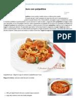 Blog.giallozafferano.it-bigoli Al Sugo Di Verdure Con Polpettine