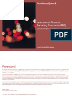 International Financial Reporting Standards (IFRS) Issues and Solutions for the Pharmaceutical Industry