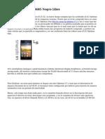 LG Optimus L9 II D605 Negro Libre