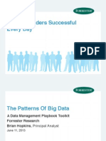 Patterns of Big Data Forrester