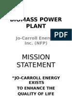 Biomass Power Plant-John Cox