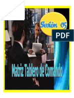 MATRIZ DE TABLERO DE COMANDO