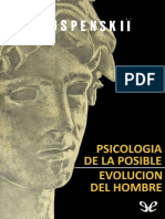 Uspenskii, P. D. - Psicologia de La Posible Evolucion Del Hombre [16481] (r1.1)