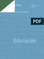 Datosycifras educacion 1415