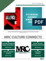 April MRC Newsletter