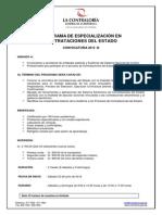 CURSO de Contrataciones Del Estado 2012-JUNIO
