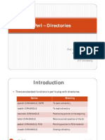 perl Directories Process Mgmt