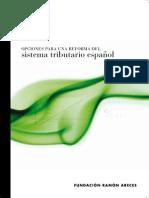 Opciones Reforma Sistema Tributario Español