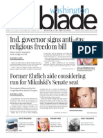 Washingtonblade.com, Volume 46, Issue 14, April 3, 2015