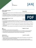 tdsb resume pdf