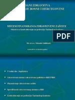 Sistem Finansiranja Zdravstvene Zastite Dani Zdravstva