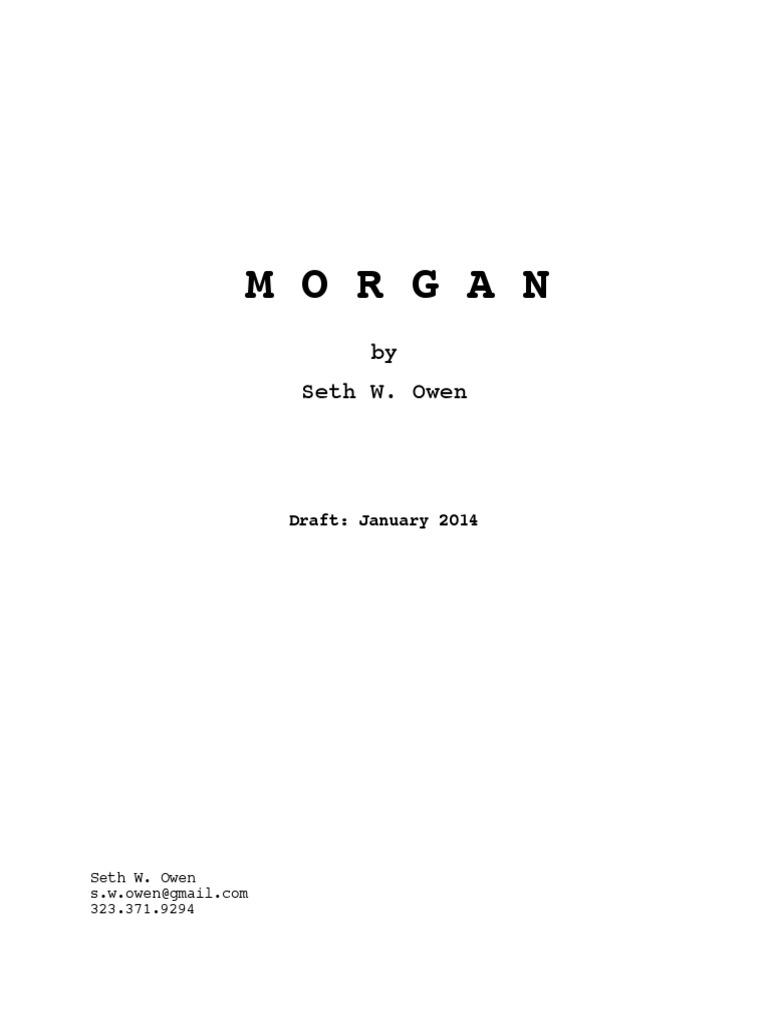 MORGAN by Seth Owen.pdf | Nature