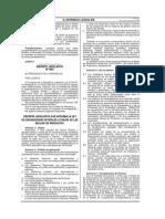 Decreto Legislativo 1063 Ley de Adquisiciones Estatales A
