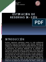 Estimacion de Reservas in Situ