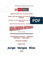 RESOLUCION  DEL REGLAMENTO INTERNO.doc