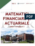 Matem Financiare Actuariale - curs