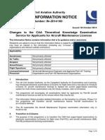 Information Notice 2014160