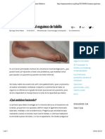 Manejo oportuno del esguince de tobillo | Sapiens Medicus