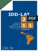 Indice de Desarrollo Democratico en America Latina